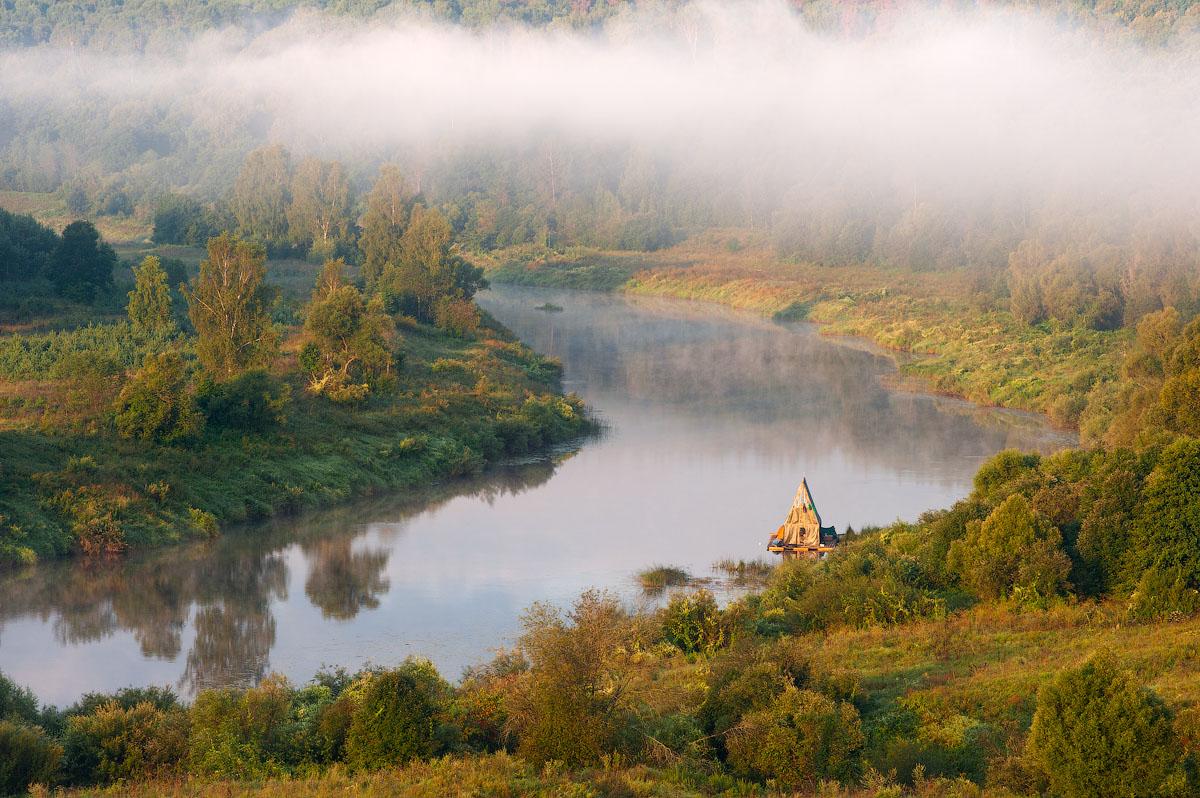 Калужская область река угра село