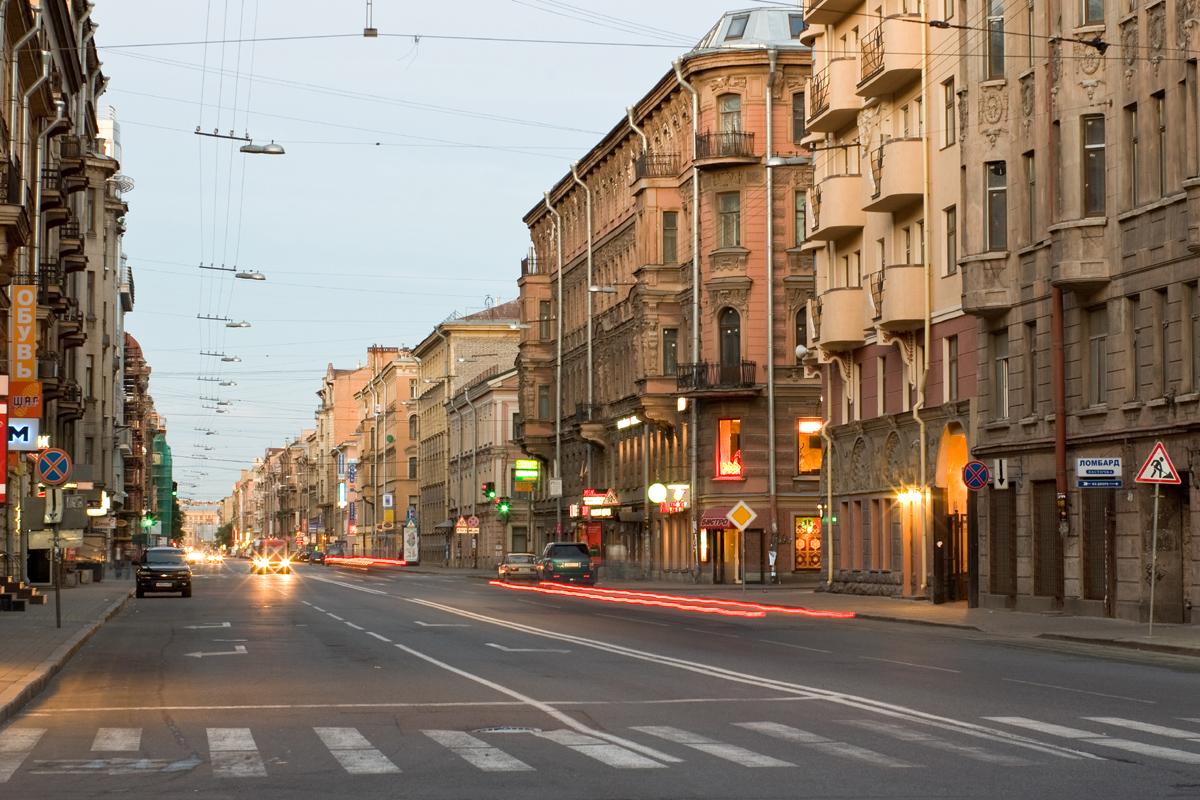 Фото улиц спб