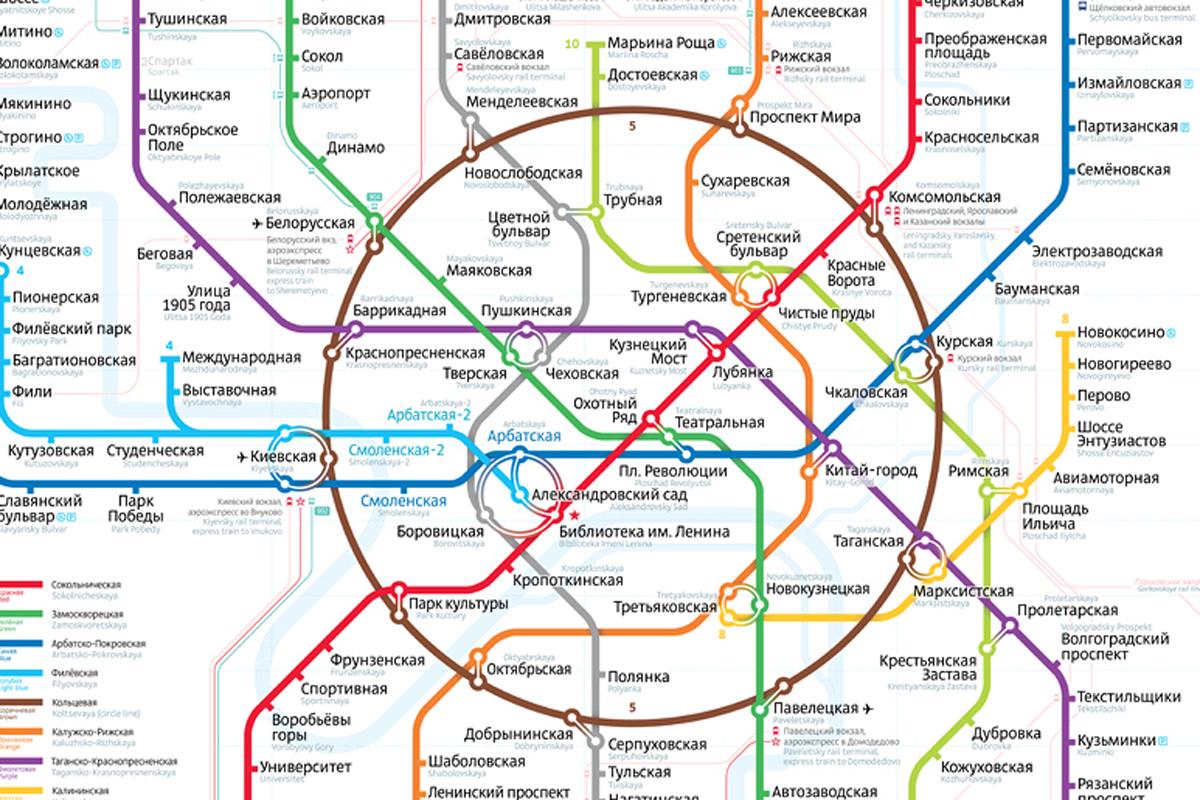 1 февраля 2013 года Департамент транспорта Москвы подвел итог голосования за новую схему метро.