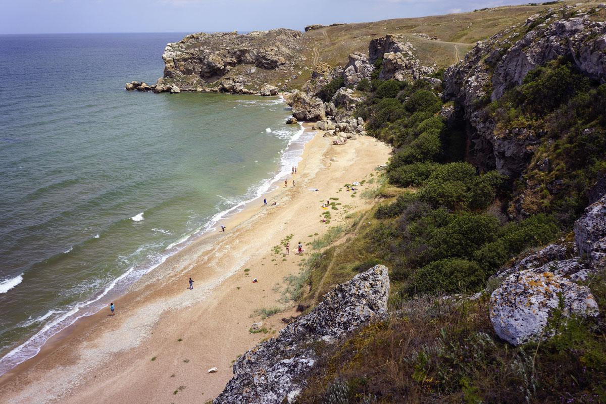 Генеральские пляжи (карта, фото) Туризм и отдых в равнинном 95