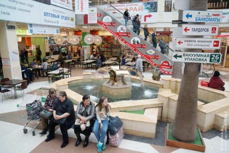 В текстильном центре «РИО» представлена продукция 700 российских производителей. Фото: Игорь Стомахин/Strana.ru. Strana.Ru