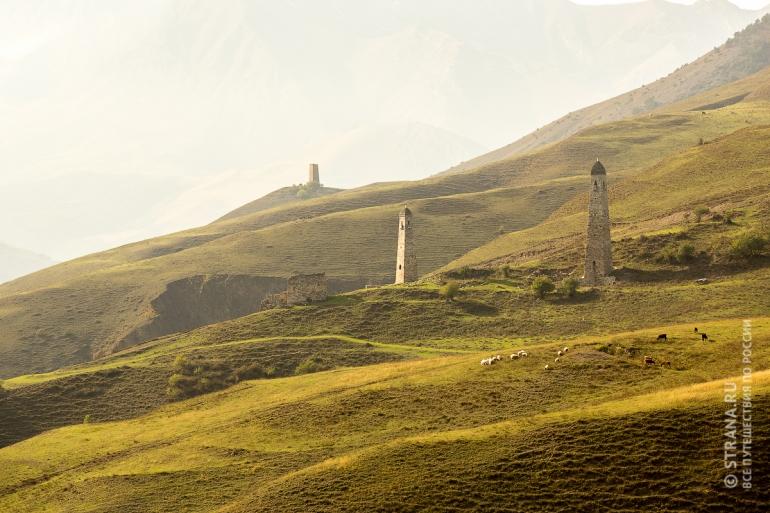 Оторванная от цивилизации горная Ингушетия. Фото: Павел Пелевин/Strana.Ru. Strana.Ru