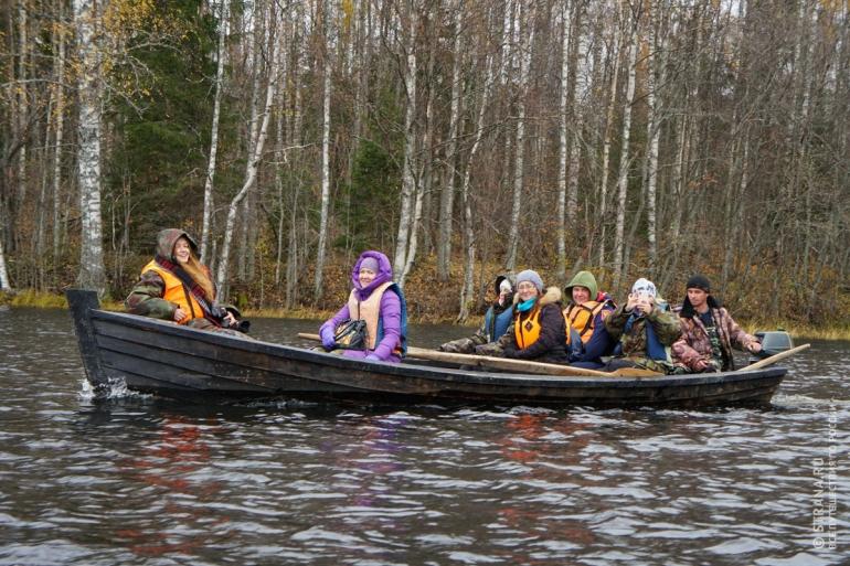 Экологический водный маршрут «Система пяти озер». Фото: Игорь Стомахин / Strana.ru. Strana.Ru