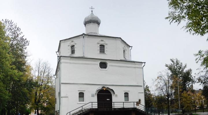 Ярославо дворище храм георгия победоносного на торгу