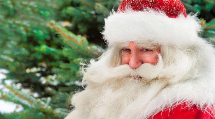 """""""Неправильный"""" Дед Мороз западного образца. Источник: Фотобанк Лори"""