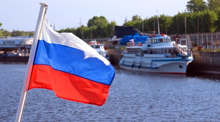 Российской федерации — история флага