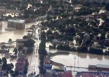 Наводнение на кубани мчс обследует