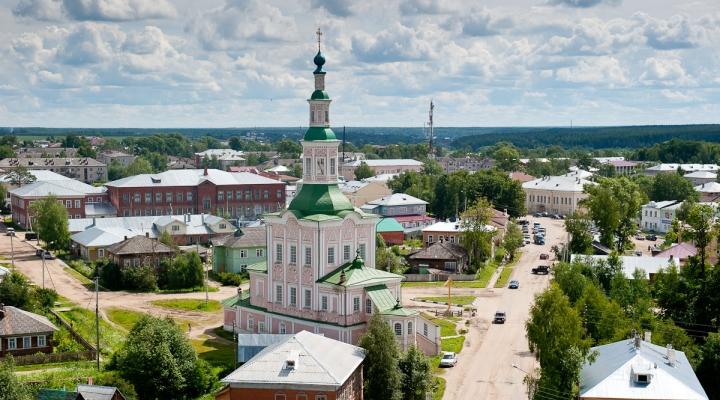 тотьма фото города