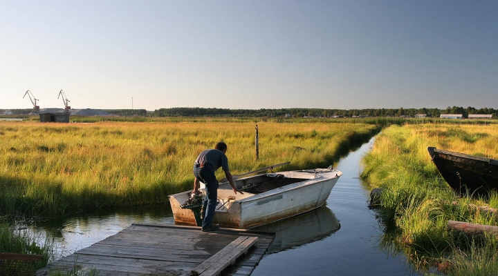 поселок шальский рыбалка