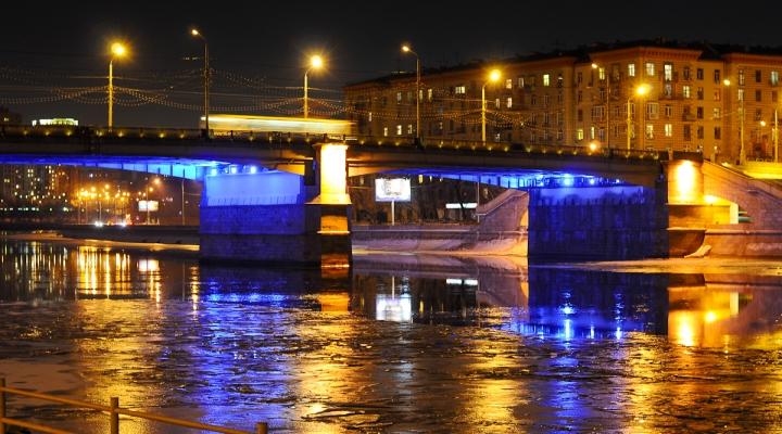 Москва. Новоспасский мост