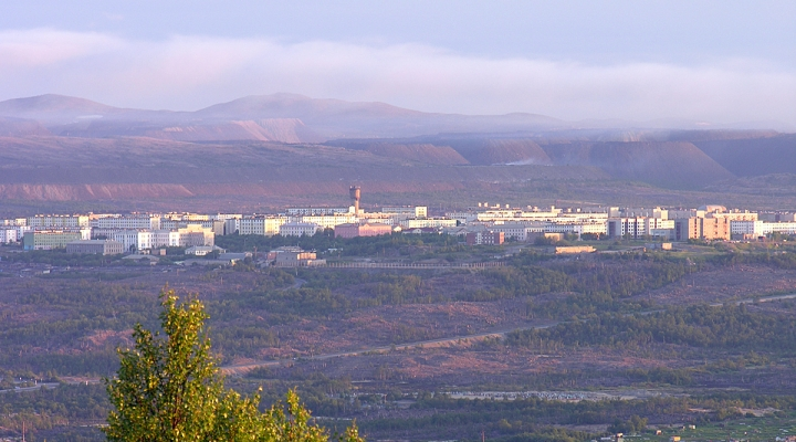 город заполярный мурманской области фото