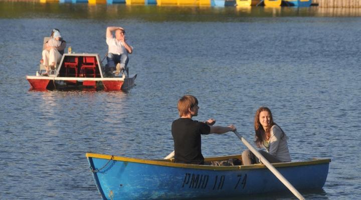 лодки на прокат парк