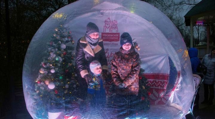 В Сокольниках заработала новая зимняя танцплощадка — Российская газета | 400x720