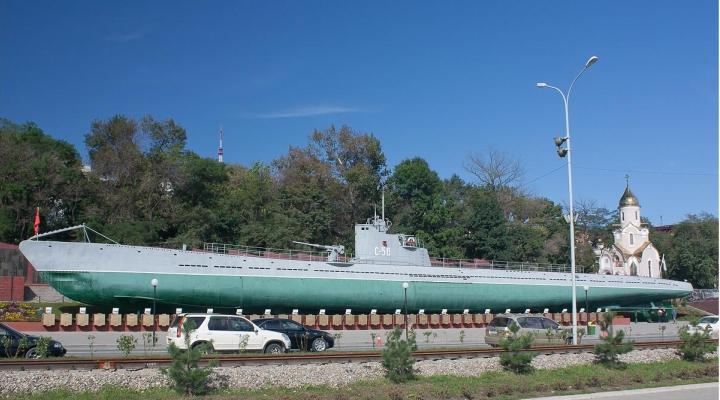 с-56 фото владивосток лодка подводная