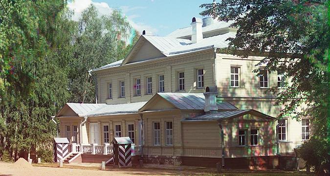 Путевой дворец Николая I в Бородино. Фото: С.М.Прокудин-Горский, 1911 год. Strana.Ru